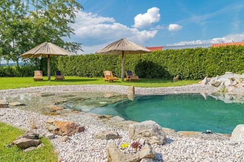 Bazén v ubytování Penzion U Námořníka nebo v jeho okolí