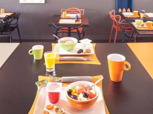 Ontbijt beschikbaar voor gasten van ibis Styles Saumur Gare Centre