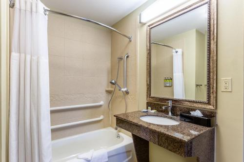 A bathroom at Candlewood Suites Harrisburg