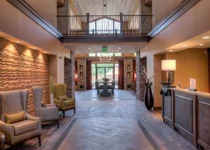 Lobby/Rezeption in der Unterkunft Hampton Inn & Suites Springdale/Zion National Park