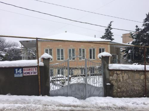 Giorgi's Homestay during the winter