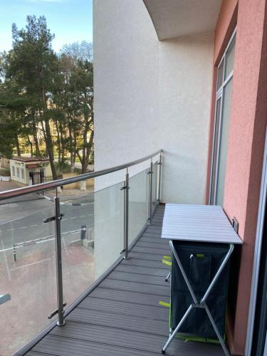A balcony or terrace at Apollon