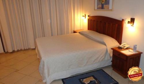 Cama ou camas em um quarto em Braston Indaiatuba