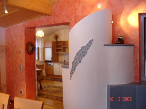 Majoituspaikan Apartment Janschitz Gundersheim keittiö tai keittotila