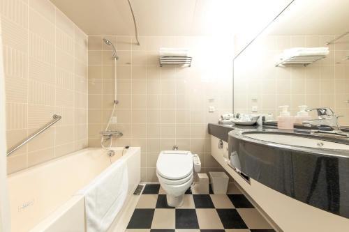 Kamar mandi di Richmond Hotel Nagasaki Shianbashi