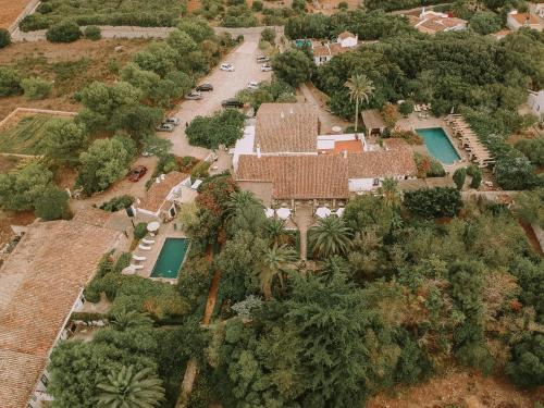 Hotel Rural Biniarroca - Adults Only a vista de pájaro