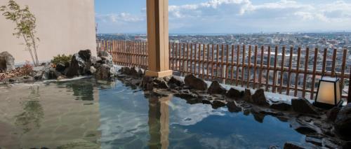 The swimming pool at or near Onyado Nono