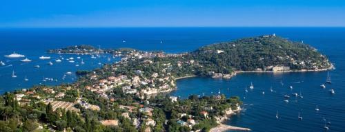 A bird's-eye view of Saint Jean Cap Ferrat