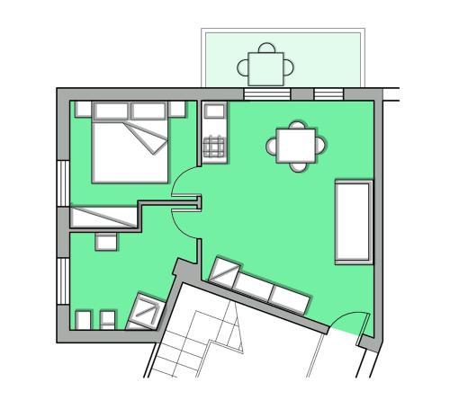 Planimetria di Residence La Giungla