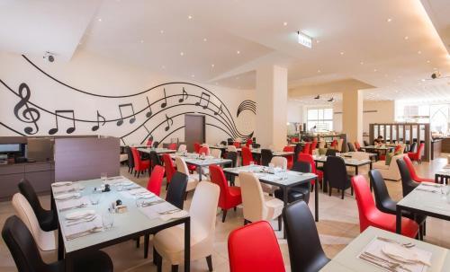 彰化福泰商務飯店餐廳或用餐的地方