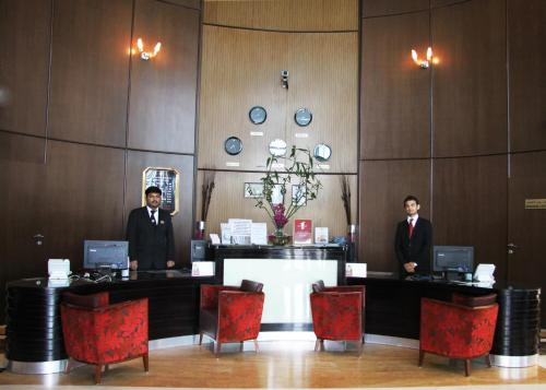 منطقة الاستقبال أو اللوبي في فندق رامي روز
