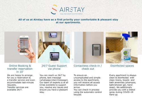 The floor plan of Orianna Apartment Airport by Airstay