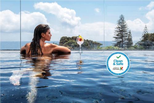 A piscina em ou perto de Aqua - Pópulo Eco Village