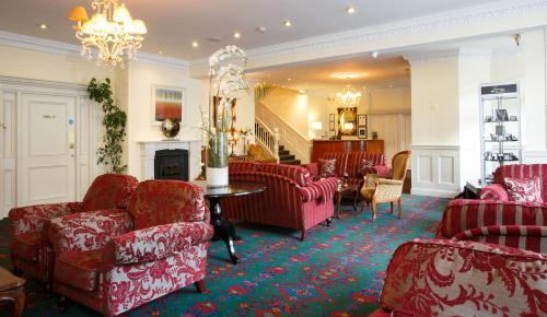 A seating area at The Clonakilty Hotel