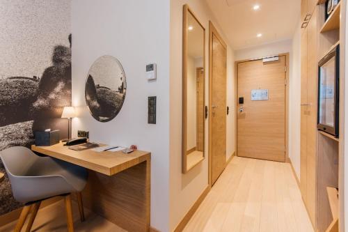 TV tai viihdekeskus majoituspaikassa Centennial Hotel Tallinn