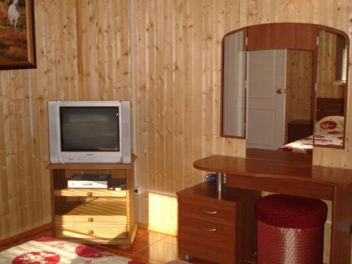 Телевизор и/или развлекательный центр в Guest House Danaya