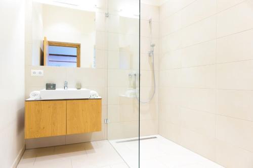Ein Badezimmer in der Unterkunft Himmlisch Urlauben Söchau