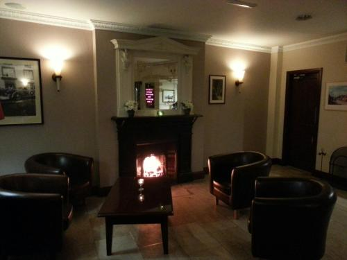 The lobby or reception area at Munster Arms Hotel
