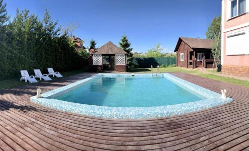 The swimming pool at or close to Inn Stay House