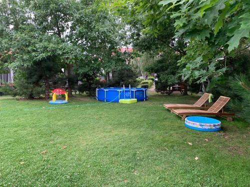 Herní místnost nebo prostor pro děti v ubytování Rybářská Bašta Vikletice - Apartmány a bungalovy - Nechranická přehrada