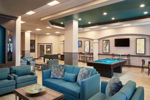 A pool table at Hilton Grand Vacations on Paradise - Convention Center