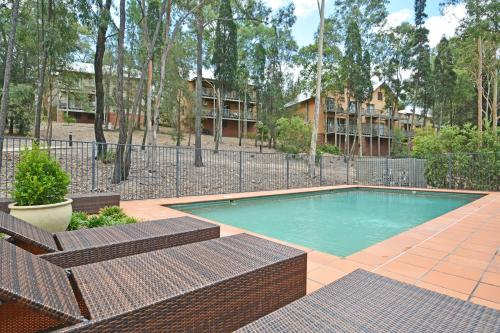The swimming pool at or near Villa 4br Vignerons Lodge Resort Condo located within Cypress Lakes Resort (nothing is more central)