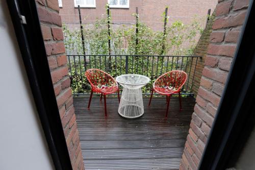 Uma varanda ou terraço em Chasse Hotel