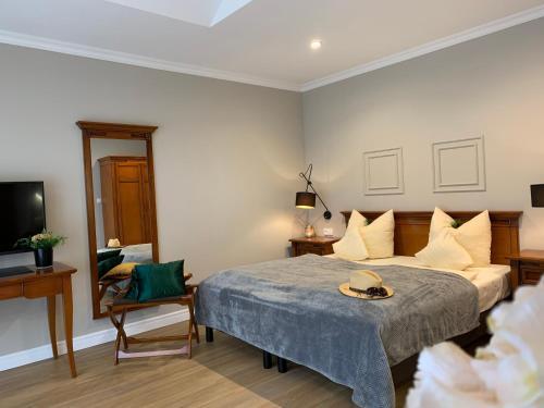 Ein Bett oder Betten in einem Zimmer der Unterkunft Oasis Resort
