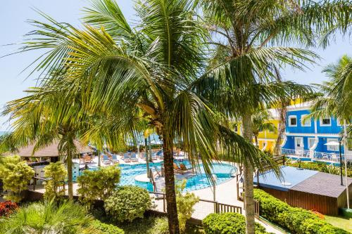 A view of the pool at Hotel Vila do Farol or nearby