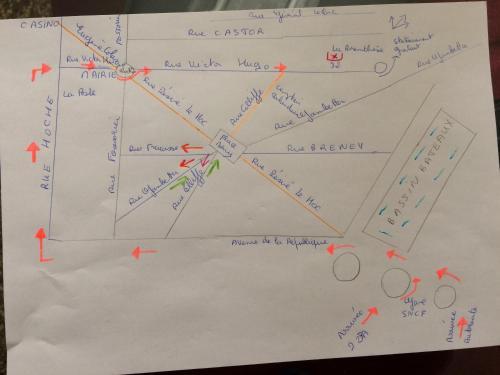 The floor plan of La Parenthèse