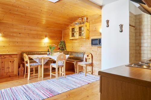 Küche/Küchenzeile in der Unterkunft Landhaus Klotz