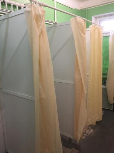 Ванная комната в kovcheg-hostel