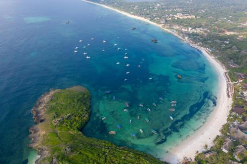 A bird's-eye view of Turtle Bay Beach Club