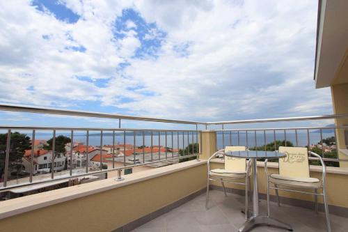 Balkón nebo terasa v ubytování Dorijini Dvori