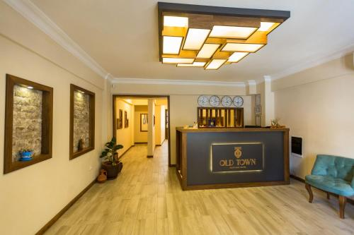 The lobby or reception area at Old Town Boutique Hotel