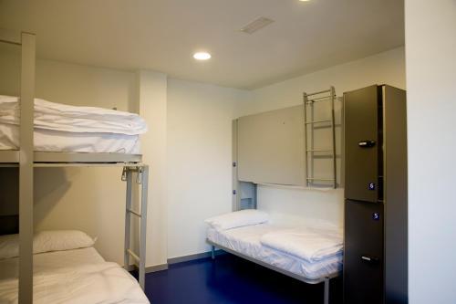Litera o literas de una habitación en BBK Bilbao Good Hostel