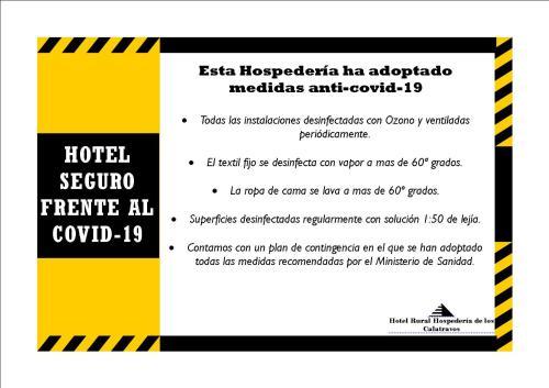 Hotel Rural Hospederia de los Calatravos La Calzada de Calatrava, Spain