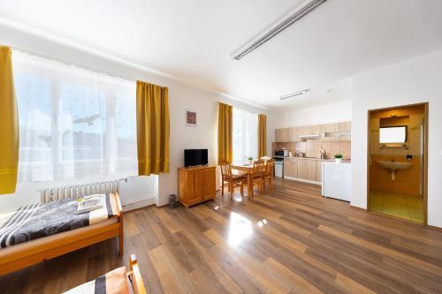 Posezení v ubytování Penziony Beneš