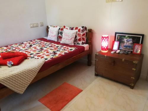 Un ou plusieurs lits dans un hébergement de l'établissement Villa Meena