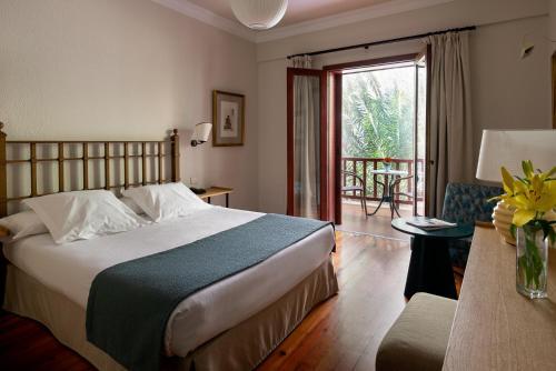 Cama o camas de una habitación en Parador de El Hierro