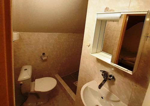 Koupelna v ubytování Penzión Festa