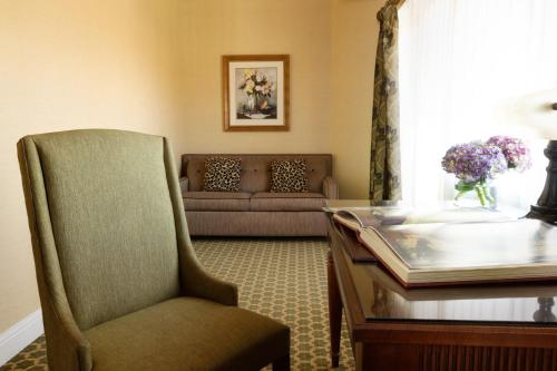 A seating area at Nemacolin