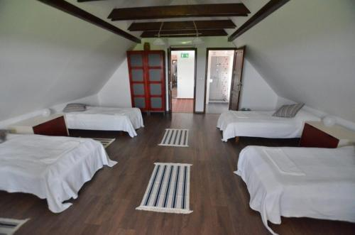 A bed or beds in a room at Bartha portak