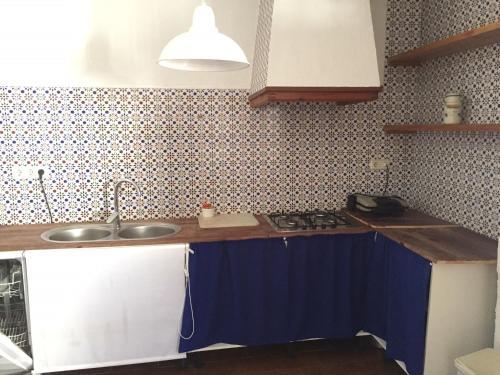 Una cocina o zona de cocina en Casa Rural Molera