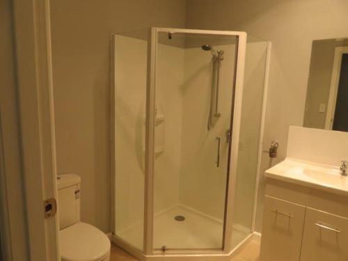 A bathroom at Motel24Seven and Apartments