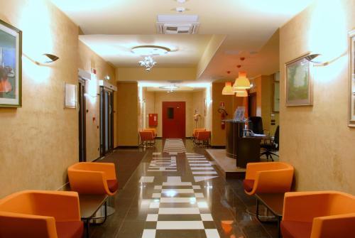 Hall o reception di Hotel Torre del Duca