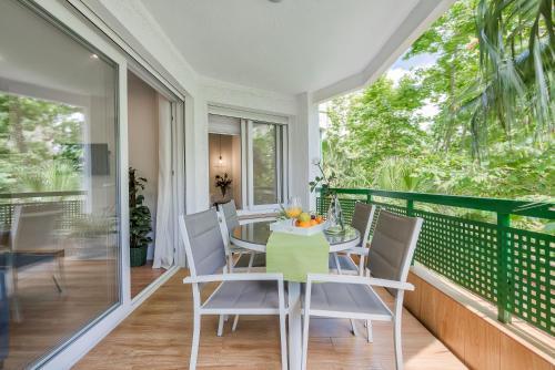 Un balcón o terraza de Sur Suites Pauli