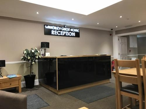 The lobby or reception area at The Waverley Guest House
