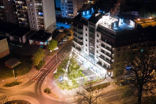 A bird's-eye view of Apartamenty Rondo