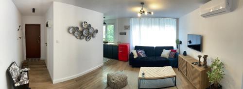 Posezení v ubytování Mermaid Apartment